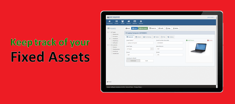 web-based asset management software