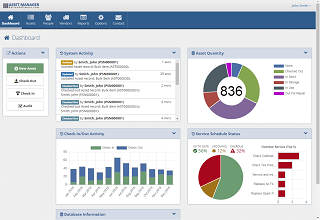 Asset Manager Dashboard
