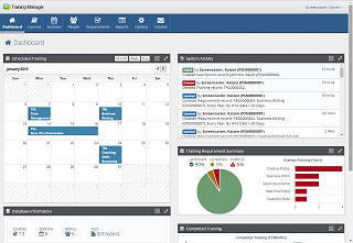 Training Manager Dashboard